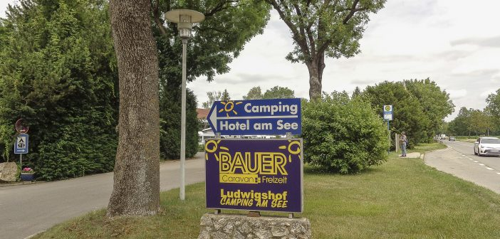 Camping Ludwigshof am See, Mühlhausen, DE