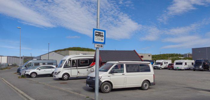 Stellplatz Kirkenes, NOR