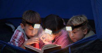 Weideraufladbare LED-Stirnlampe von OMERIL