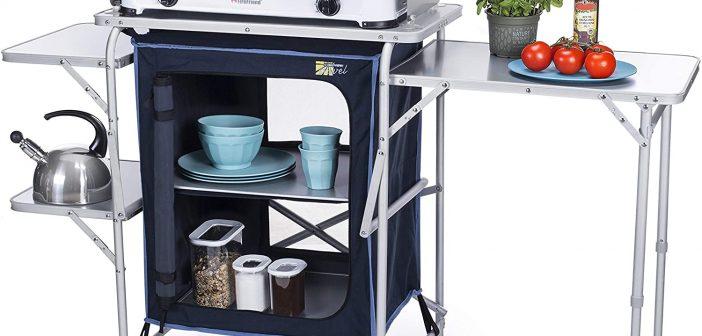 Kompakte Campingküche von Campart